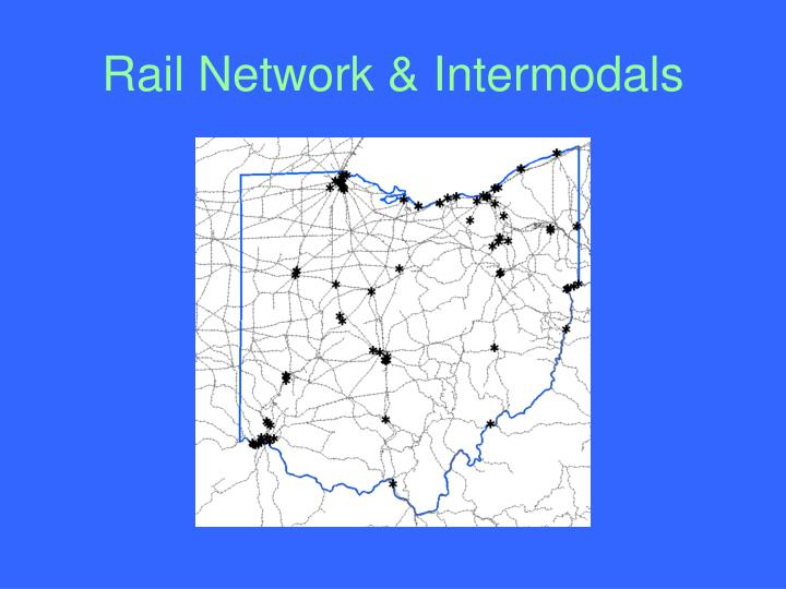 Rail Network & Intermodals