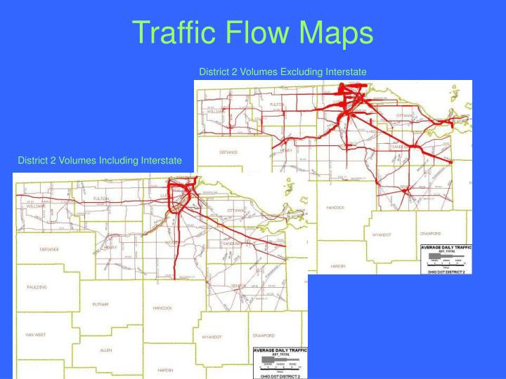Traffic Flow Maps