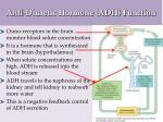 anti diuretic hormone adh function