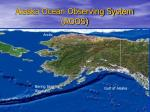 alaska ocean observing system aoos