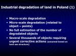 industrial degradation of land in poland 1
