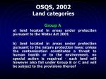 osqs 2002 land categories