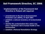 soil framework directive ec 2006