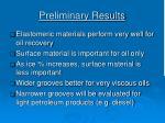 preliminary results2