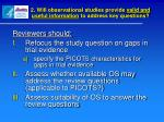2 will observational studies provide valid and useful information to address key questions