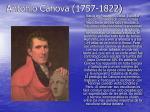 antonio canova 1757 1822