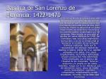 bas lica de san lorenzo de florencia 1422 1470