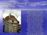 catedral de florencia c pula 1420 1436