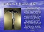 crucifijo de el escorial 1539
