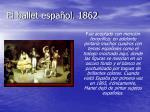 el ballet espa ol 1862