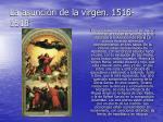 la asunci n de la virgen 1516 1518