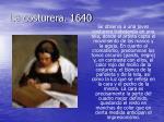 la costurera 1640