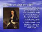 la dama del abanico 1635