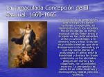 la inmaculada concepci n de el escorial 1660 1665