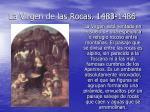 la virgen de las rocas 1483 1486