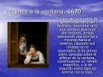 mujeres a la ventana 1670