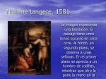 noli me tangere 1581