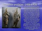 peque os profetas 1406 1408