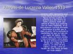 retrato de lucrezia valier 1533