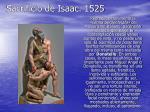 sacrificio de isaac 1525