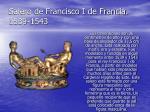 salero de francisco i de francia 1539 1543