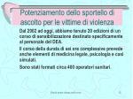 potenziamento dello sportello di ascolto per le vittime di violenza3