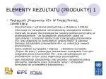 elementy rezultatu produkty 1