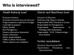 who is interviewed1