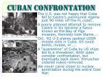 cuban confrontation