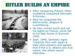 hitler builds an empire