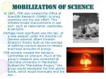 mobilization of science