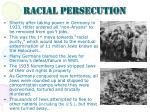 racial persecution