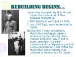 rebuilding begins1