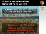 water resources of the national park system1