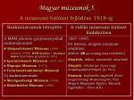 magyar m zeumok 5