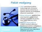 pakiet medyczny1