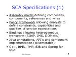 sca specifications 1