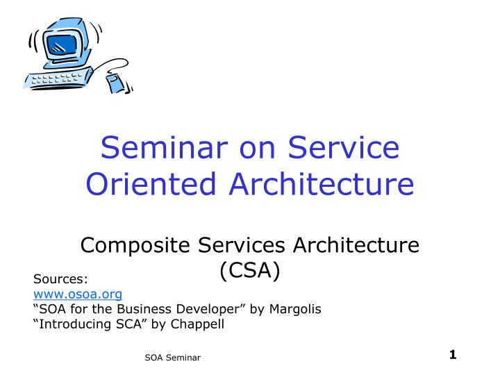 seminar on service oriented architecture n.