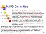 maud committee1