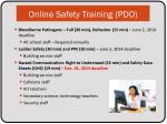 online safety training pdo