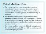 virtual machines cont2