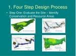 1 four step design process