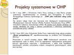 projekty systemowe w ohp