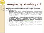 www powroty zielonalinia gov pl