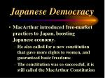 japanese democracy