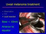 uveal melanoma treatment2