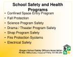 school safety and health programs1