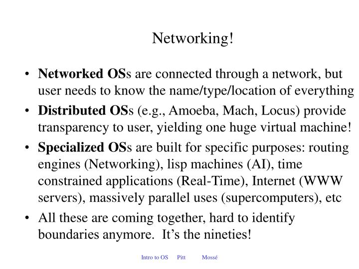 Networking!