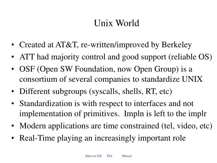 Unix World