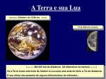 a terra e sua lua